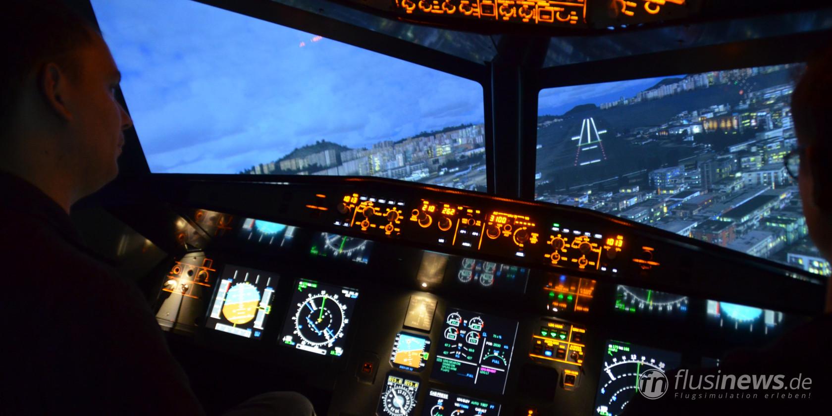 Unterwegs im Flugsimulator Frankfurt