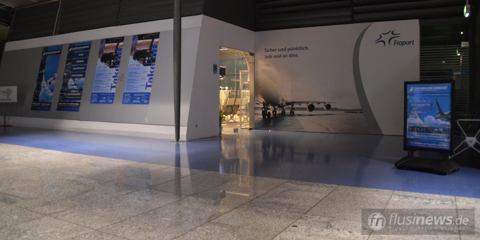 Airbus A320, Flugsimulator Frankfurt