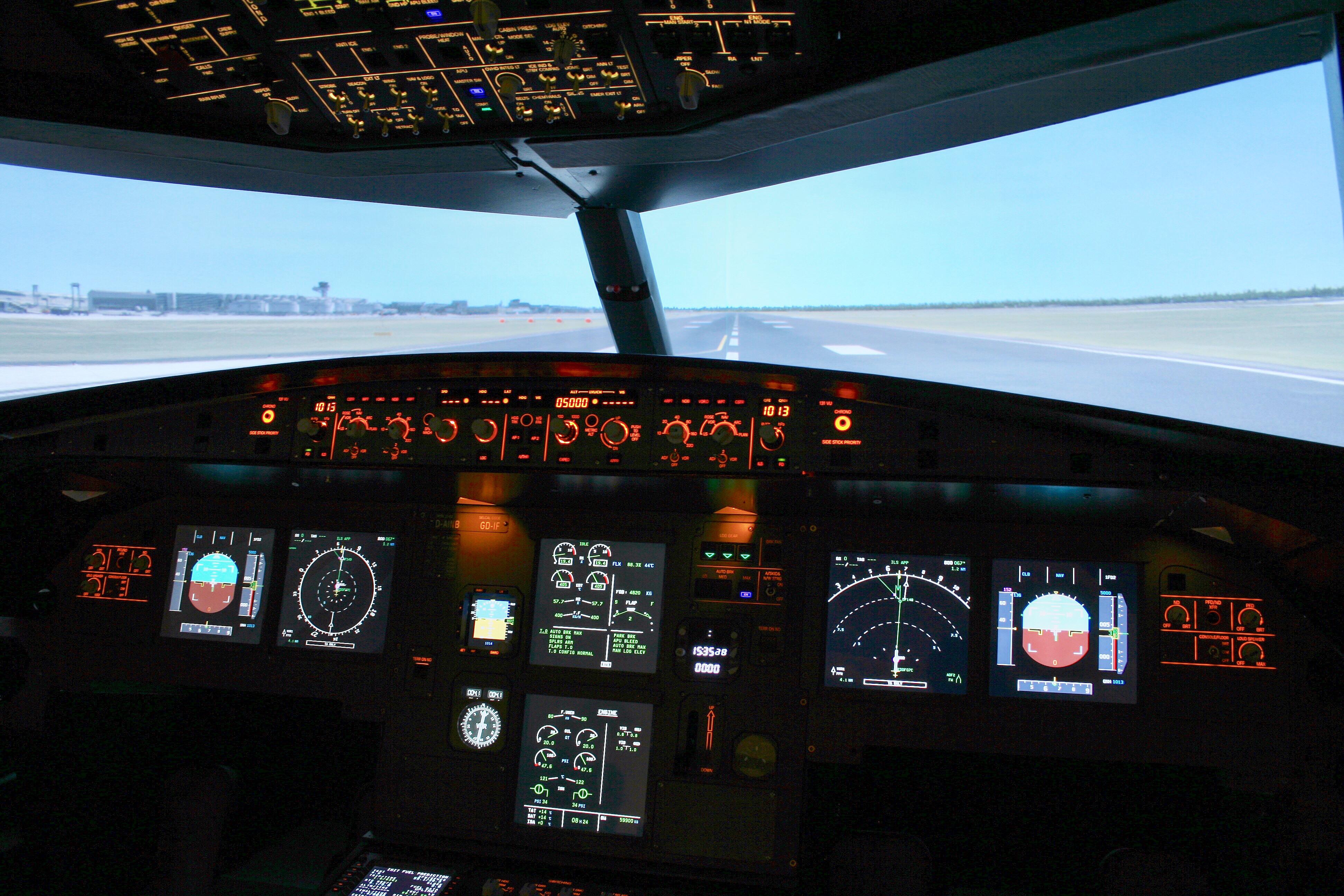 Airbus A320, Northbound