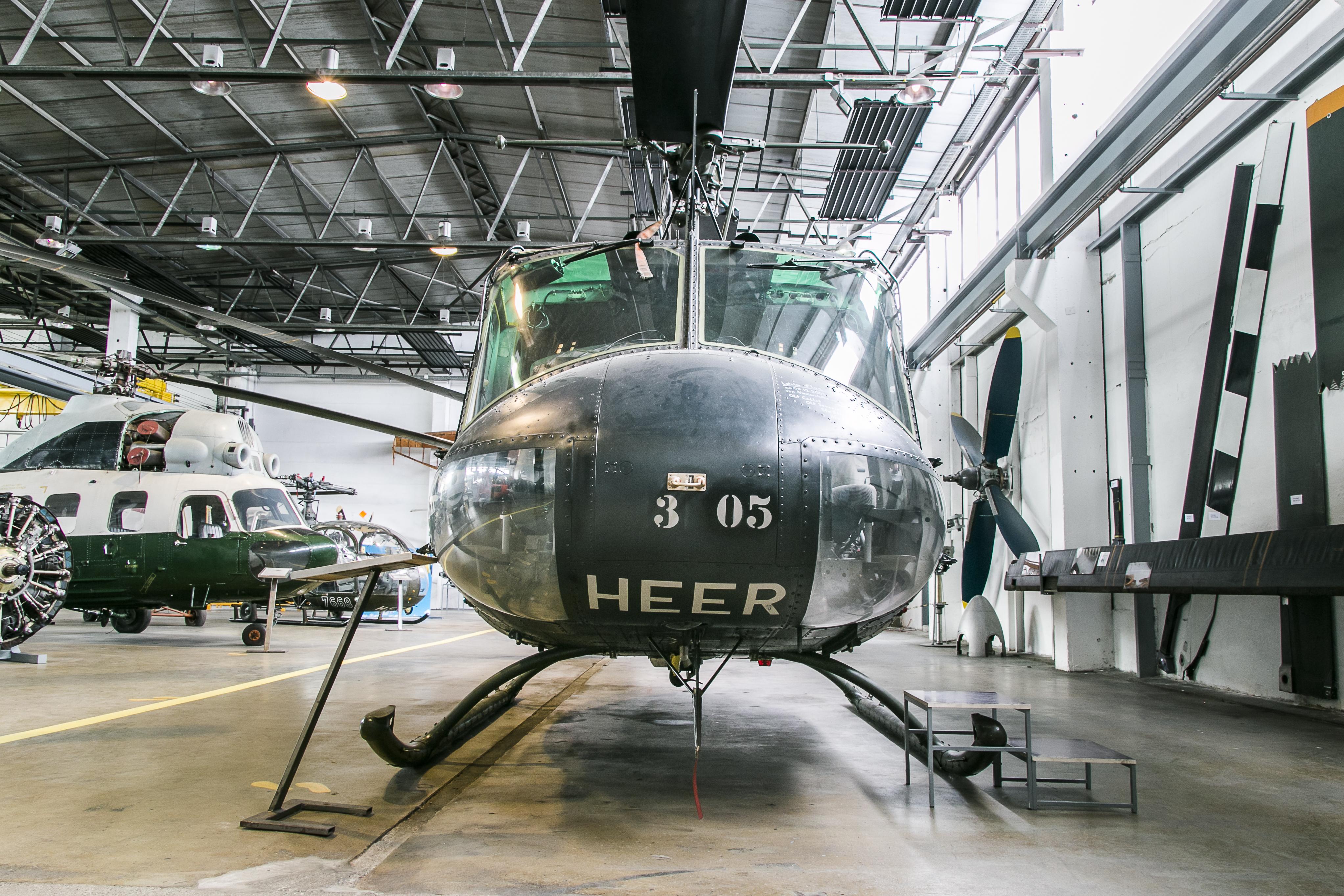 Bell UH-1 D, Luftfahrtmuseum Wernigerode