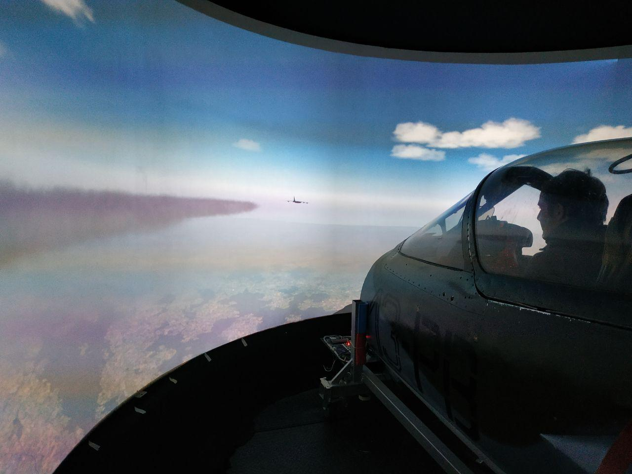 Mirage Kampfjet Simulator